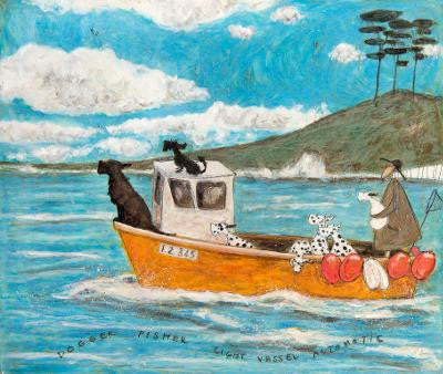 Dogger Fisher Light Vessel Automatic by Sam Toft