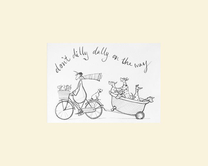 Don't Dilly Dally Sketch