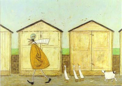 Doris Brings up the Rear by Sam Toft