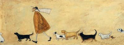 Doris Meets Roger (Father of Many) by Sam Toft