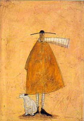 Doris on the Foot by Sam Toft