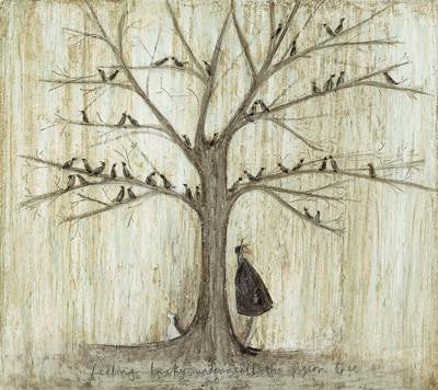 Feeling Lucky Underneath the Pigeon Tree by Sam Toft