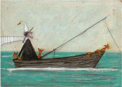 Fish Hunt by Sam Toft