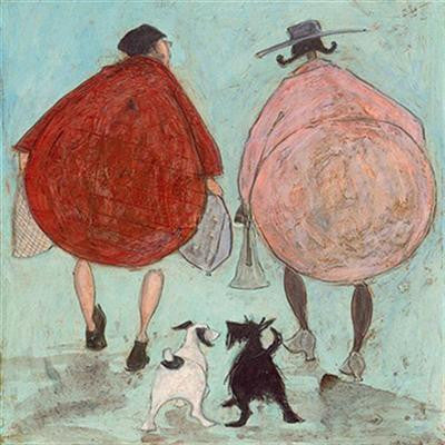 Heading Home for a Girls Night In by Sam Toft