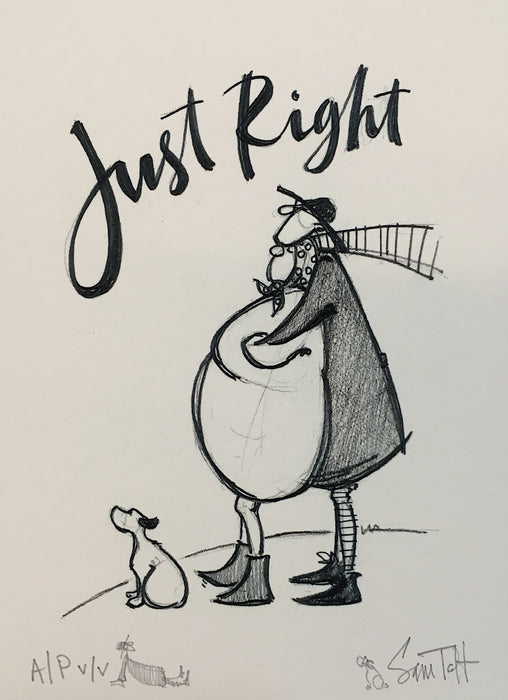 Just Right - Artist's Proof