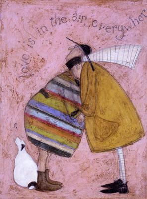Love is in the Air Everywhere by Sam Toft