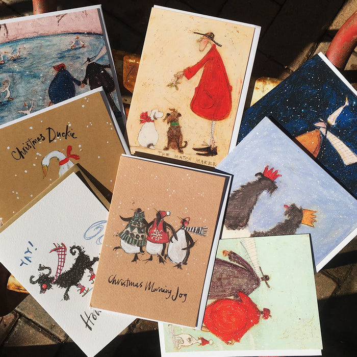 Mixed Christmas Cards - 12/26 Card Packs