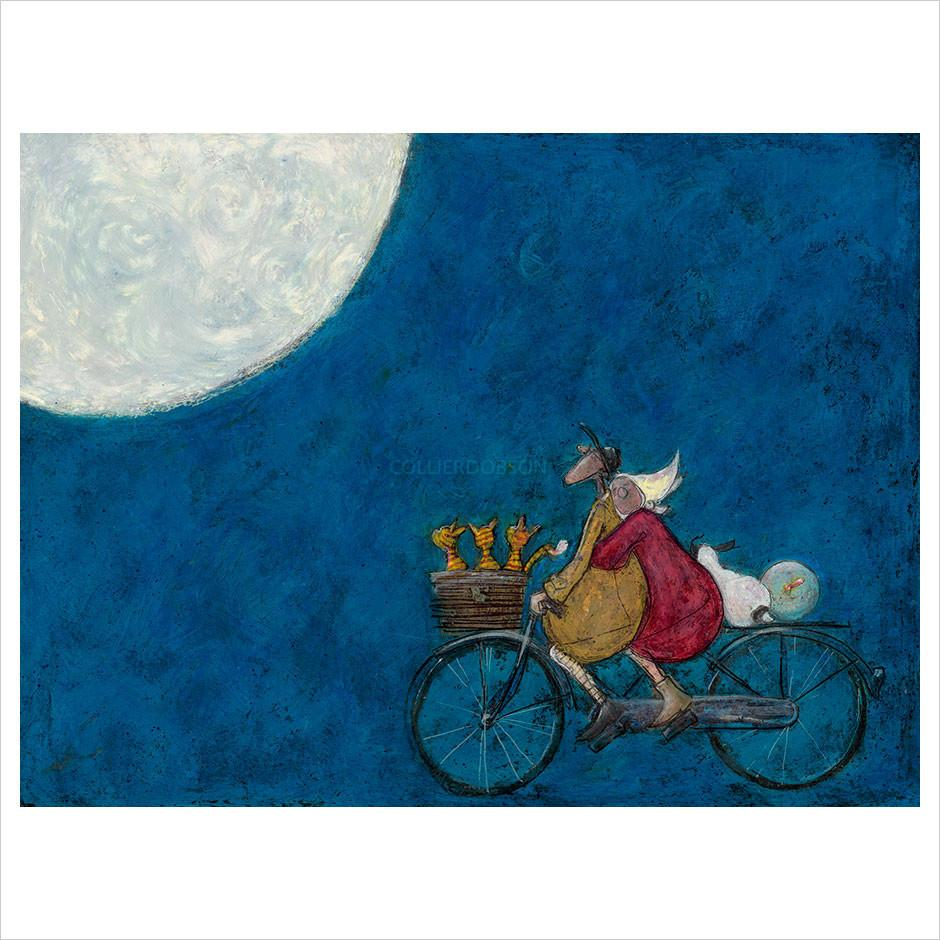 Moonlight Drive by Sam Toft