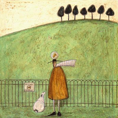 No Fish Allowed by Sam Toft