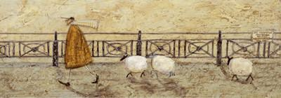 No Sheep on the Beach by Sam Toft