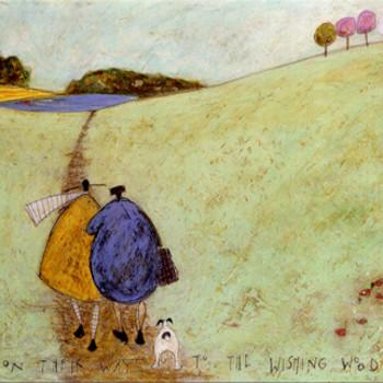 On Their Way to the Wishing Wood by Sam Toft