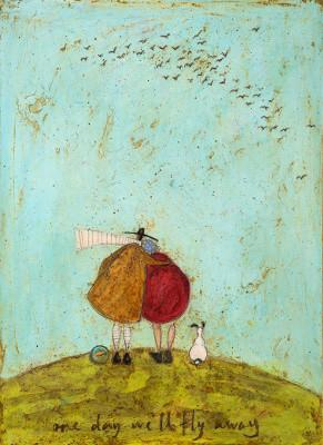 One Day We'll Fly Away by Sam Toft
