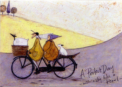 A Perfect Day with Sky Like a Pearl by Sam Toft