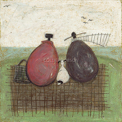 A Picnic With a View by Sam Toft