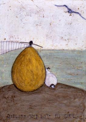 Quality Time with his Girl by Sam Toft
