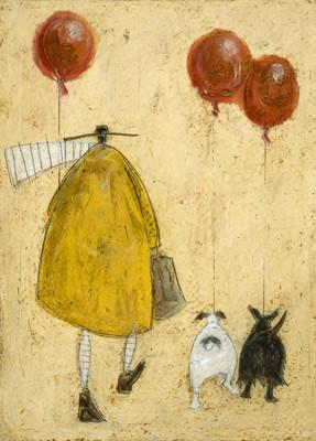 Red Balloons by Sam Toft