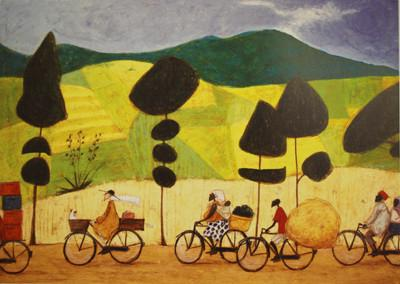 Rush Hour on the Road to Lushoto by Sam Toft