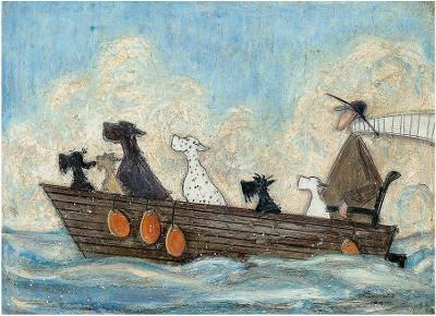 Sea Dogs by Sam Toft
