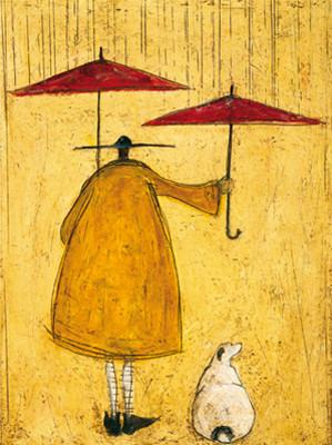 She who Must Be Kept Dry by Sam Toft