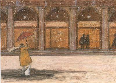 It's Snowing in St. Mark's Square, Doris by Sam Toft