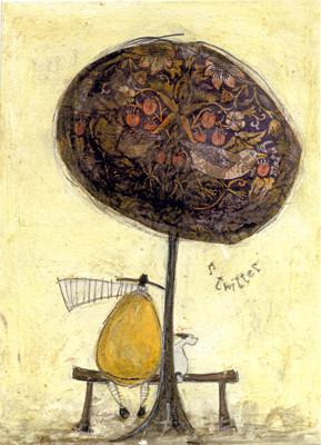 Something's Twittering by Sam Toft