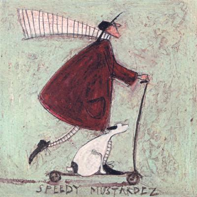 Speedy Mustardez by Sam Toft