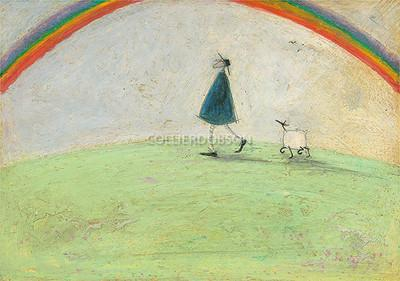 Stumbling Over Four Leaved Clover by Sam Toft