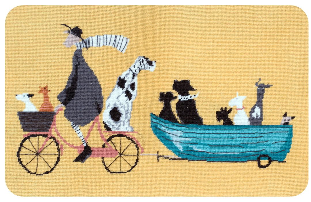 Fernsby Hall Tapestry Kit - Big Doggie Taxi