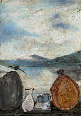 Tea Breaks at the Lakes by Sam Toft