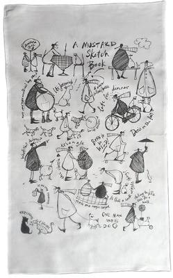 Tea Towel by Sam Toft