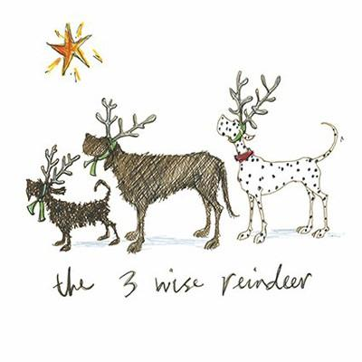 Three Wise Reindeer by Sam Toft