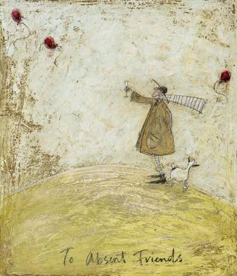 To Absent Friends by Sam Toft