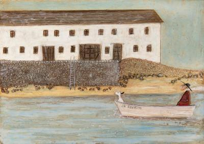 Tootling by St Michaels Mount by Sam Toft