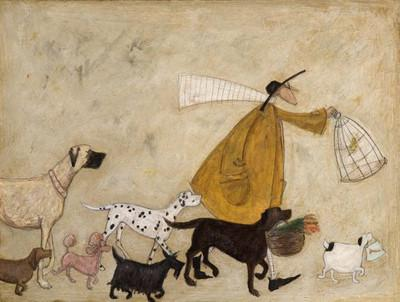 Visiting Old Friends at Battersea by Sam Toft