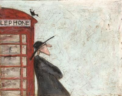 Waiting by Le Phone by Sam Toft