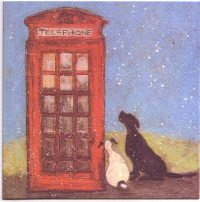 Waiting for the Santa Call by Sam Toft