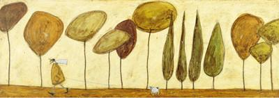 Walking Down the Avenue by Sam Toft