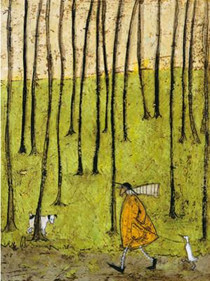 Walking The Duck by Sam Toft
