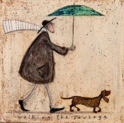the Apple Doesn/'t Fall Far From The Tree Mounted Print 40 x 40cm Sam Toft