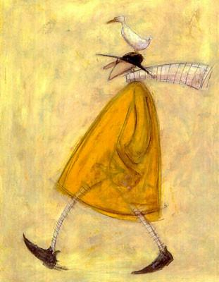 Walking with Horace by Sam Toft