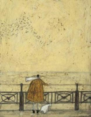 Watching the Starlings (with Doris) by Sam Toft