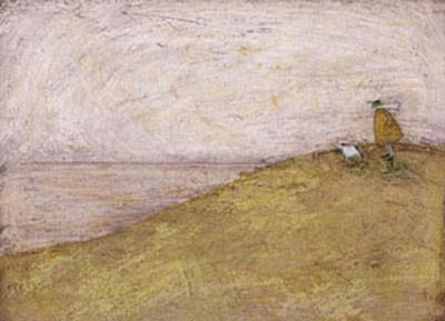 Looking out at Windy Top by Sam Toft