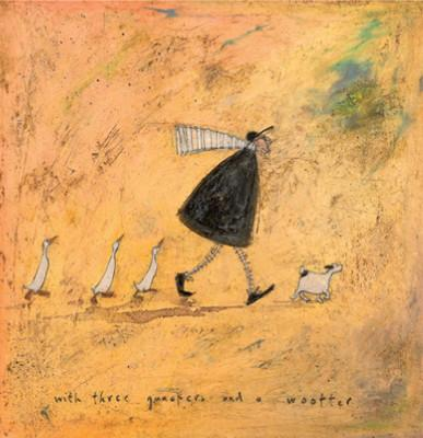 With 3 Quackers & a Woofter by Sam Toft