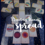 Planetary Themes Tarot Spread (7 Cards)