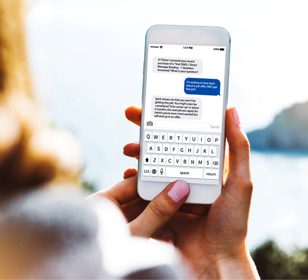 3 Questions Answered via Text (SMS), Direct Message, or E-Mail