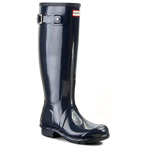 Hunter Womens Original Tall Gloss Navy WFT1000RGL