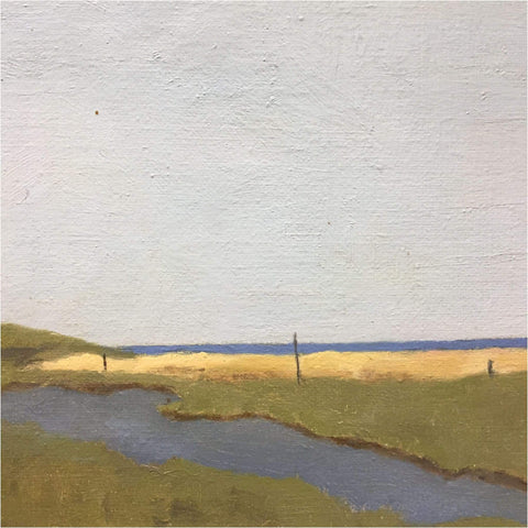 Art - B.M Hucker, High Tide Norfolk Flats