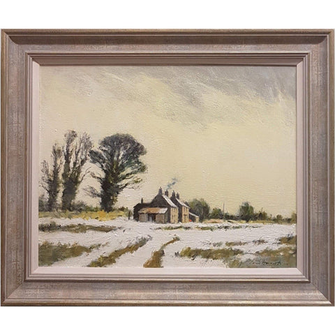 Art - Ian Houston, East Suffolk Under Snow