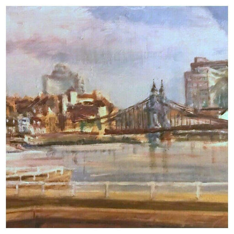 Art - Patricia Bound, Hammersmith Bridge