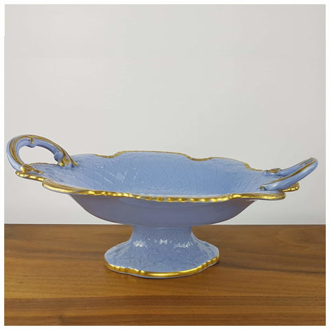 Ceramics - Blue Comport